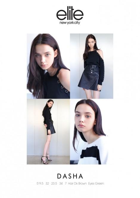 Dasha Iljuschits @ Elite Model Management NY | Al Models